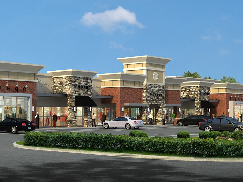 785 - New Shopping Center